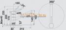 Смеситель BLANCO TIVO хром 0