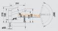 Смеситель BLANCO ALTA Compact нержавеющая сталь 0