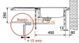 Мойка FRANKE EUROFORM EFN 614-78 нержавеющая сталь матовая 0