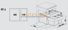 Система сортировки отходов BLANCO SELECT 60/2 Orga 0