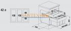 Система сортировки отходов BLANCO SELECT 60/4 Orga 0