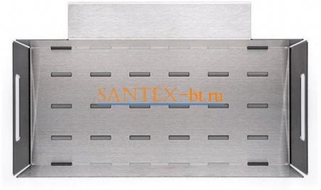 Коландер SCHOCK для мойки DOMUS 60 D нержавеющая сталь 629047