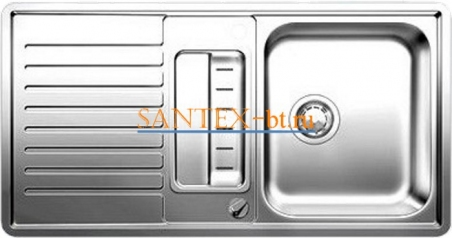 Мойка BLANCO CLASSIC PRO 5 S-IF нержавеющая сталь зеркальная полировка с клапаном-автоматом