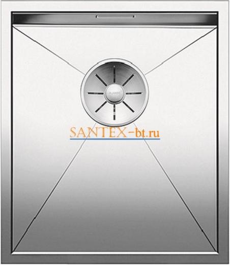 Мойка BLANCO ZEROX 340-U нержавеющая сталь зеркальная полировка