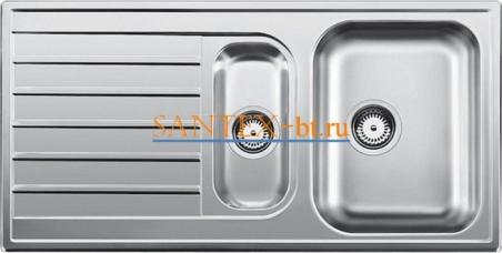 Мойка BLANCO LIVIT 6 S нержавеющая сталь полированная
