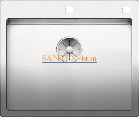 Мойка BLANCO CLARON 550-IF/А с клапаном-автоматом, нержавеющая сталь зеркальная полировка