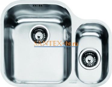 Мойка FRANKE ARMONIA AMX 160 нержавеющая сталь полированная чаша слева