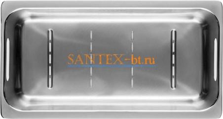 Коландер SCHOCK для мойки SIGNUS 60 D, PRIMUS 60 D нержавеющая сталь 629043