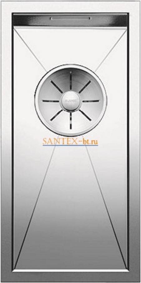 Мойка BLANCO ZEROX 180-U нержавеющая сталь зеркальная полировка