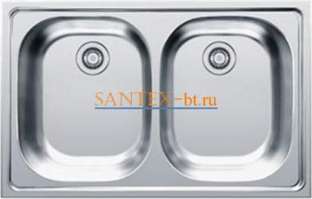 Мойка FRANKE EUROSTAR ETX 620-50 нержавеющая сталь матовая