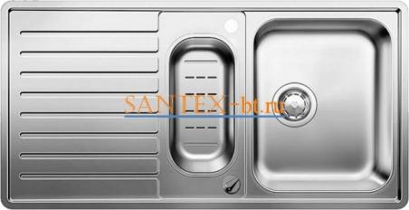 Мойка BLANCO CLASSIC PRO 6 S-IF нержавеющая сталь зеркальная полировка с клапаном-автоматом