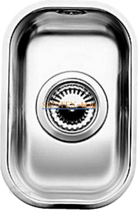 Мойка BLANCO SUPRA 180-U с коландером, нержавеющая сталь полированная
