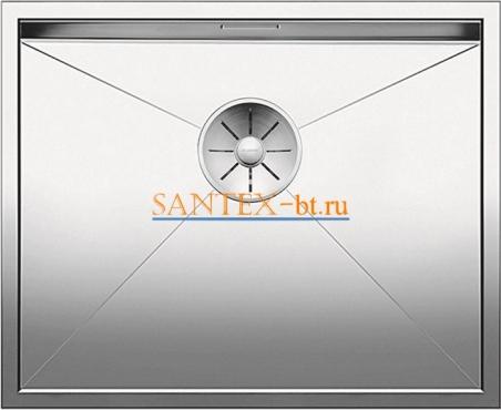 Мойка BLANCO ZEROX 500-U нержавеющая сталь зеркальная полировка