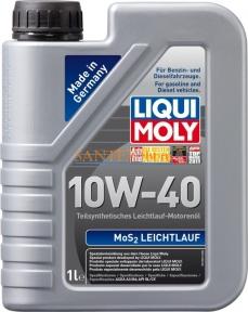 Моторное масло LIQUI MOLY MoS2 Leichtlauf 10W-40 1 л