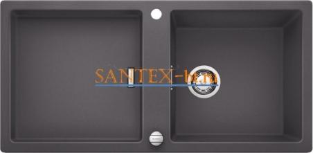 Мойка BLANCO ADON XL 6 S SILGRANIT с клапаном-автоматом