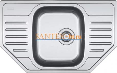 Мойка FRANKE POLAR PXN 612 E нержавеющая сталь матовая