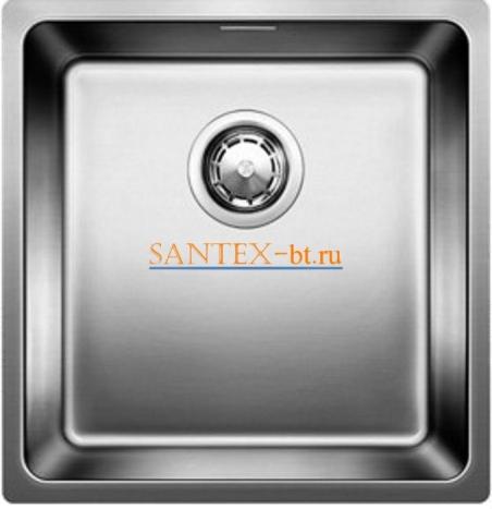Мойка BLANCO ANDANO 400-U нержавеющая сталь зеркальная полировка