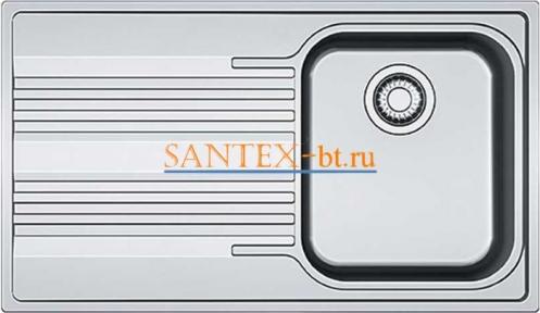 Мойка FRANKE SMART SRX 611-86 нержавеющая сталь полированная