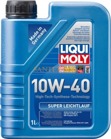 Моторное масло LIQUI MOLY Super Leichtlauf 10W-40 1 л