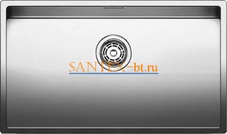 Мойка BLANCO ANDANO 700-IF с клапаном-автоматом, нержавеющая сталь зеркальная полировка