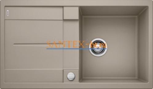 Мойка BLANCO METRA 5 S SILGRANIT с клапаном-автоматом