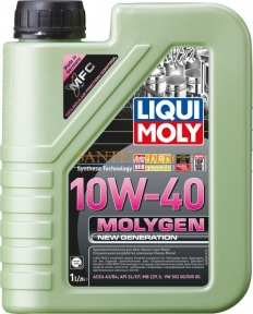 Моторное масло LIQUI MOLY Molygen New Generation 10W-40 1 л