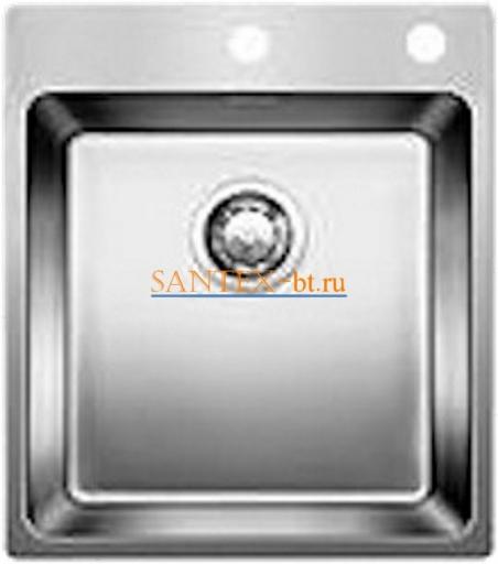 Мойка BLANCO ANDANO 400-IF-A с клапаном-автоматом, нержавеющая сталь зеркальная полировка