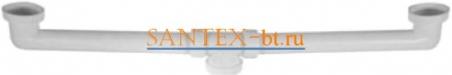 Соединитель отводных труб для 2-х чашевых моек 628111