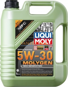 Моторное масло LIQUI MOLY Molygen New Generation 5W-30 5 л