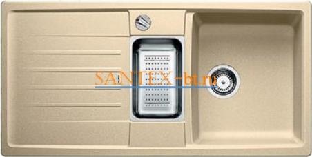 Мойка BLANCO LEXA 6 S SILGRANIT с клапаном-автоматом