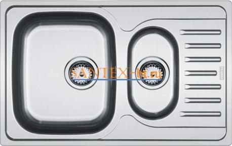 Мойка FRANKE POLAR PXL 651-78 нержавеющая сталь