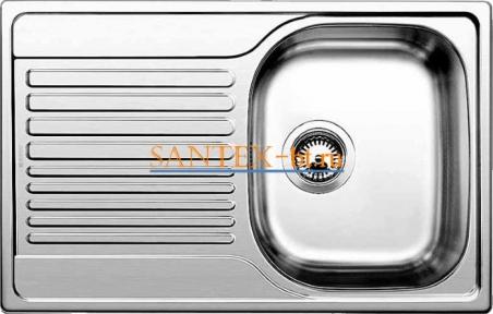 Мойка BLANCO TIPO 45 S Compact нержавеющая сталь матовая