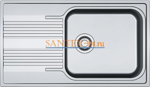 Мойка FRANKE SMART SRX 611-86 XL нержавеющая сталь полированная