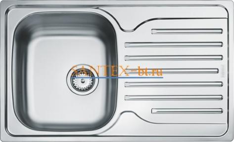 Мойка FRANKE POLAR PXL 611-78 нержавеющая сталь