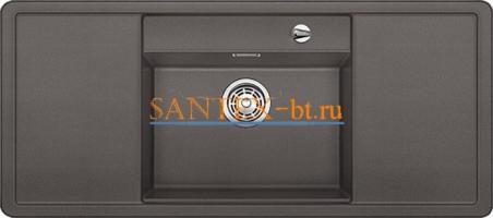 Мойка BLANCO ALAROS 6 S SILGRANIT с клапаном-автоматом InFino и белой доской
