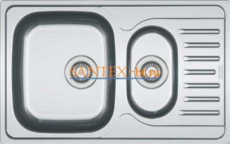 Мойка FRANKE POLAR PXN 651-78 нержавеющая сталь матовая