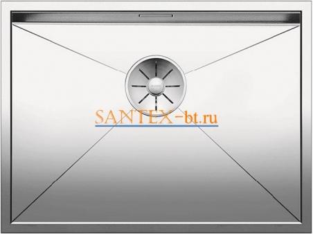 Мойка BLANCO ZEROX 550-U нержавеющая сталь зеркальная полировка