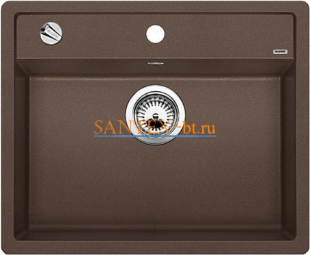 Мойка BLANCO DALAGO 6 SILGRANIT с клапаном-автоматом