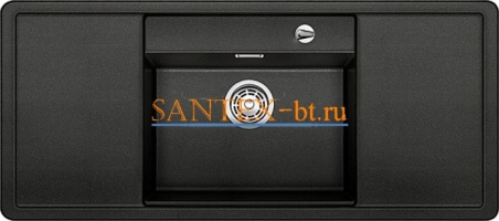 Мойка BLANCO ALAROS 6 S SILGRANIT с клапаном-автоматом InFino и черной доской