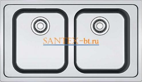 Мойка FRANKE SMART SRX 620 нержавеющая сталь полированная
