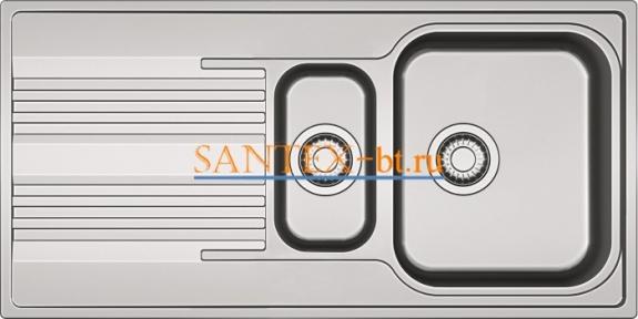 Мойка FRANKE SMART SRX 651 нержавеющая сталь полированная
