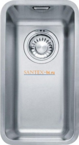 Мойка FRANKE KUBUS KBX 110-20 нержавеющая сталь полированная