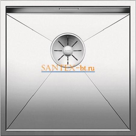 Мойка BLANCO ZEROX 400-U нержавеющая сталь зеркальная полировка