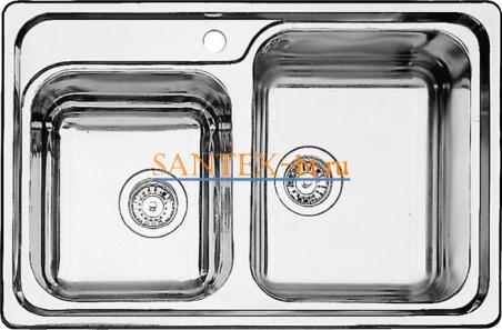 Мойка BLANCO CLASSIC 8 нержавеющая сталь c зеркальной полировкой
