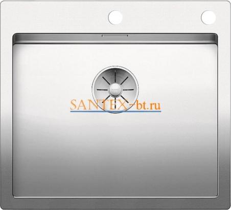 Мойка BLANCO CLARON 500-IF/А с клапаном-автоматом, нержавеющая сталь зеркальная полировка