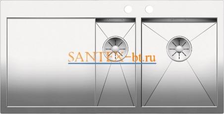 Мойка BLANCO ZEROX 6S-IF/А с клапаном-автоматом, чаша справа, нержавеющая сталь зеркальная полировка