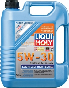 Моторное масло LIQUI MOLY Leichtlauf High Tech LL 5W-30 5 л