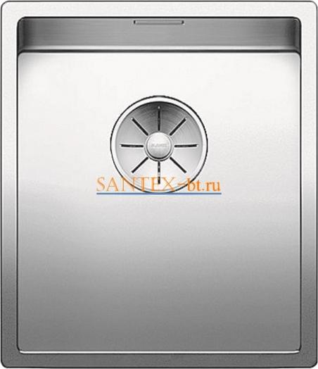 Мойка BLANCO CLARON 340-U нержавеющая сталь зеркальная полировка