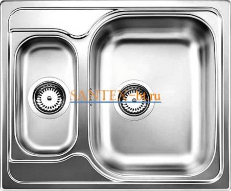 Мойка BLANCO TIPO 6 Basic нержавеющая сталь матовая