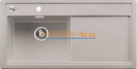 Мойка BLANCO ZENAR XL 6 S SILGRANIT с клапаном-автоматом, чаша слева